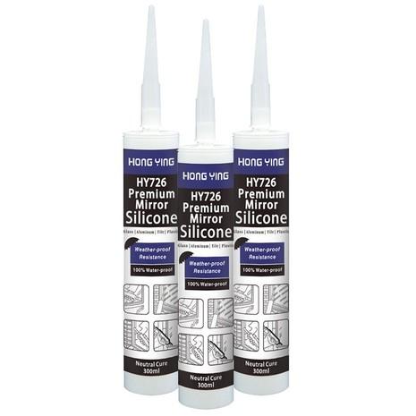 HY726 Premium Mirror Silicone Sealant
